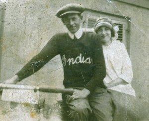 #3 Grandma & Grandpa old motorcycle